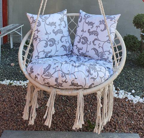 Poduszka ogrodowa na bocianie gniazdo fotel bujak