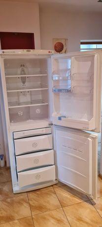 używana, sprawna, lodówko-zamrażarka LG No Frost GR-349SQF kolor biały