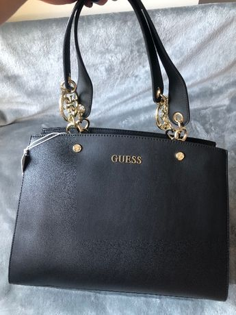 Nowa z metkami czarna torebka marki Guess shopper