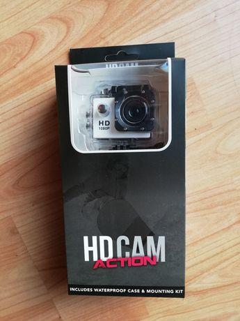 HD Cam Action 1080p - Biała kamerka sportowa