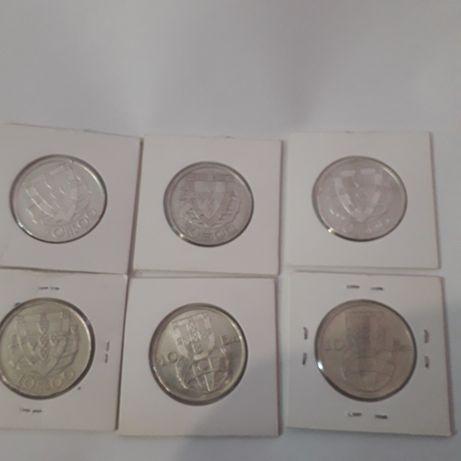 Seis moedas  otimo preco