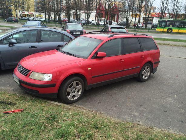 VW Passat B5 Pokrywa Silnika Kolor czerwony