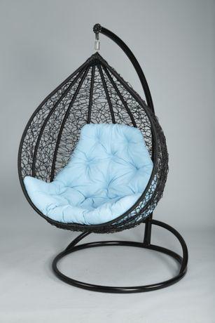 Подвесное кресло кокон плетёное из искусственного ротанга BIG АКЦИЯ
