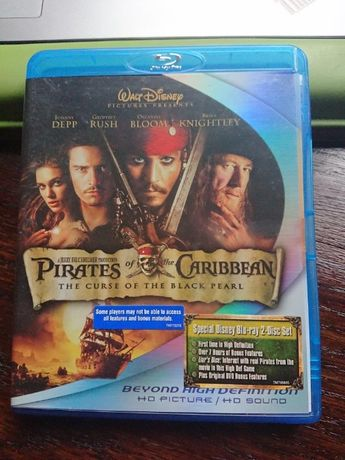 PIRATES OD THE CARIBBEAN - The course of the black pearl na blue ray