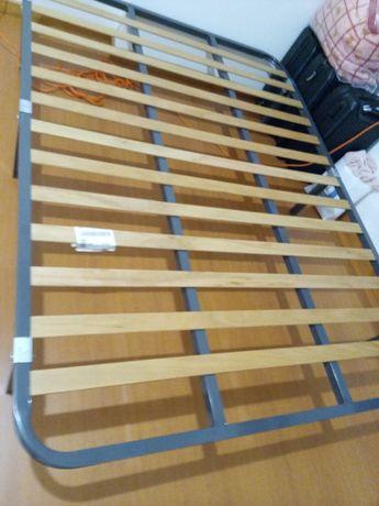 Estrado de cama casal 1,33x1,83 mts