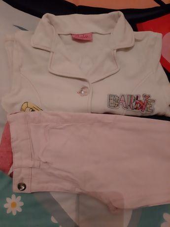 Vendo conjunto de casaco da Barbie e calças