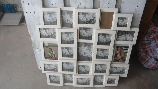 Moldura fotografias grande para fotos pequenas
