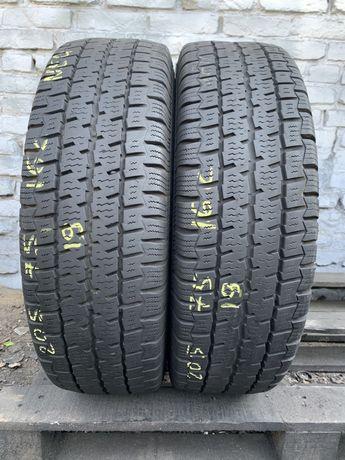 Літні шини 205/75 R16c Continental VancoFourSeason2/2шт/2019рік/6.5+мм