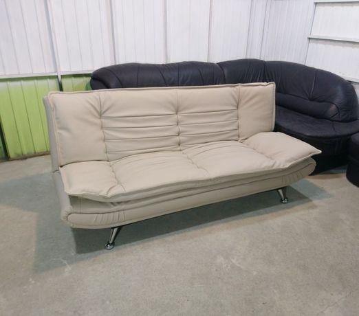 Кожаный диван! Раскладной диван!