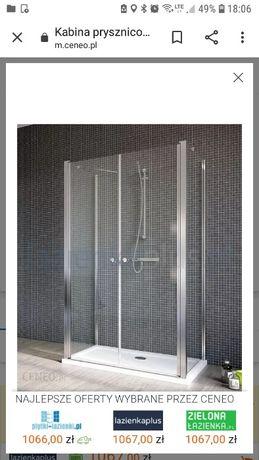 Drzwi do kabiny prysznicowej Radaway EOS II DWD+2S 80