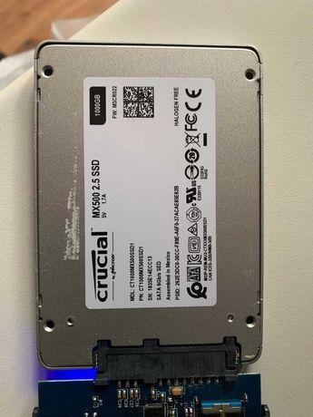 1TB Sata SSD Crucial MX500