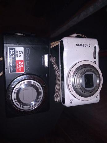 Aparat Samsung wb35f i Casio exilim