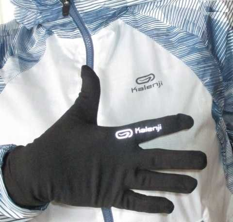 Перчатки беговые KALENJI Running размер М