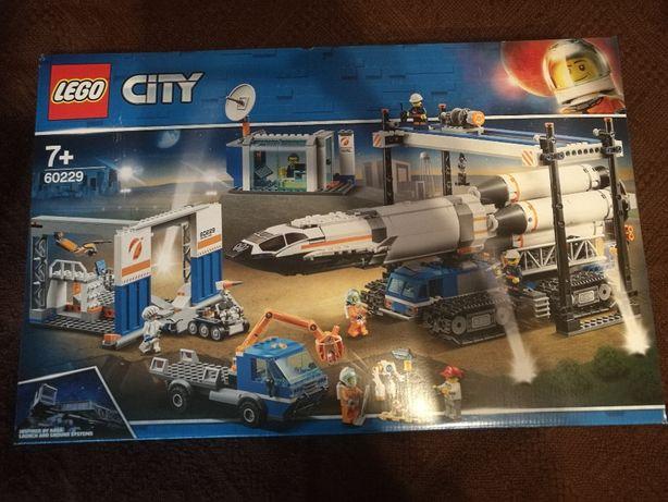 LEGO 60229 City Transport i montaż rakiety