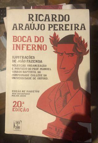 Livro Boca do Inferno (RAP)