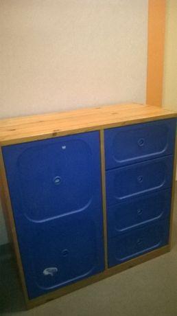 Komoda HEMNES na zabawki IKEA-komoda-regał-BESTA IKEA-meble dla dzieci