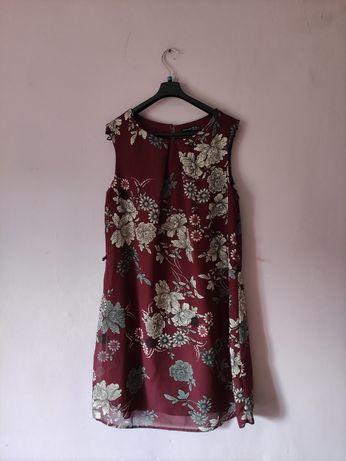 Sukienka w kwiaty r. L xl 40 42