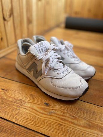 New balance white 574