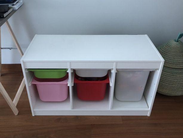 Comb. Arrumação com caixas TROFAST IKEA