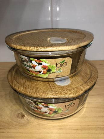 2 Tupperwares Vidro