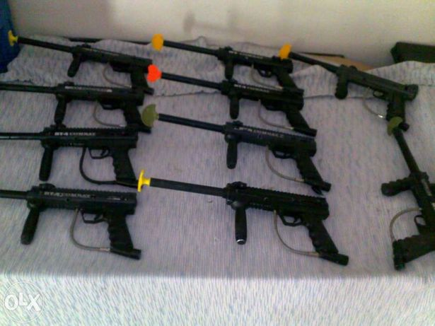 Vendo kit's paintball completos