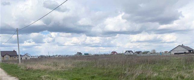 Продам земельну ділянку в 11 км від Броварів. с. Красилівка