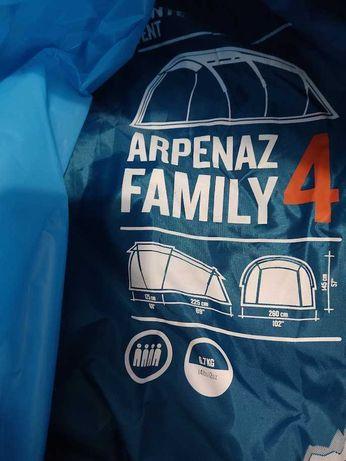 Tenda Campismo Quechua Arpenaz Family 4 - para 4 pessoas + extras