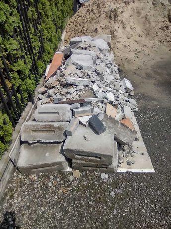 Oddam za darmo Gruz betonowy