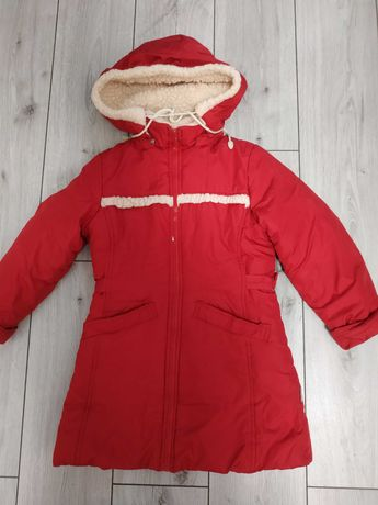Куртка пальто зимнее 122-130