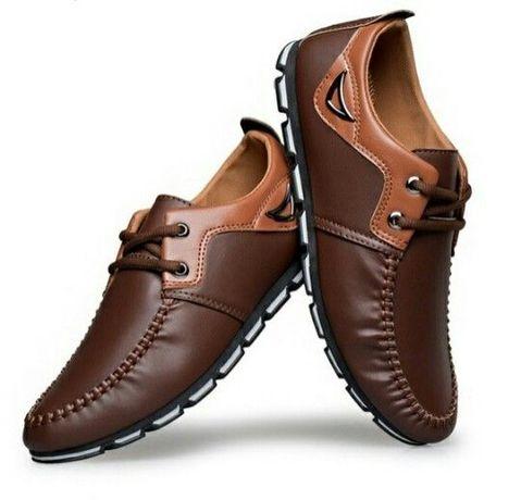 Sapato Coreano Castanho (novos)