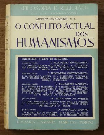 o conflito actual dos humanismos, auguste etcheverry, s.j.