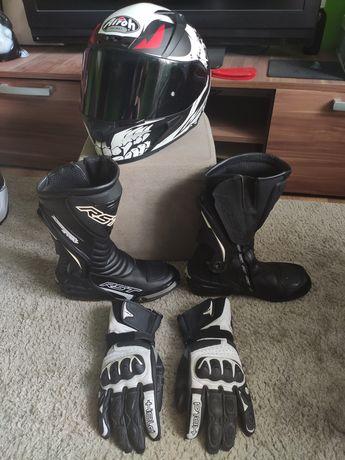 Kask motocyklowy airoh valor bone rozmiar L 2 szybki 2 pinlocki