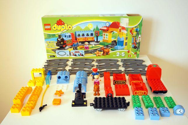 Klocki Lego Duplo Lokomotywa 2-5lat 10507