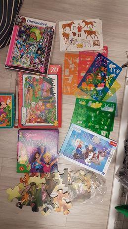 Puzzle maxi, układanki, gry