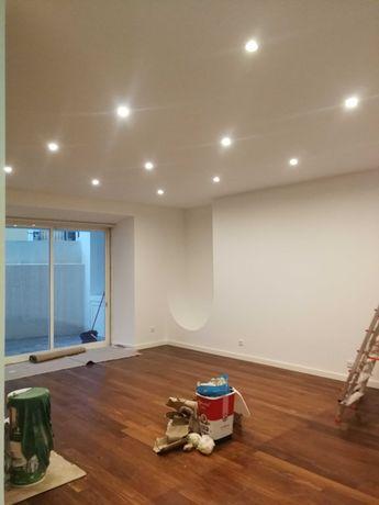 Pinturas / Pladur / chão flutuante e pequenas remodelações