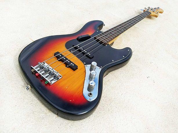 Samick Jazz Bass Made in Korea 1988 c/ estojo Rockcase