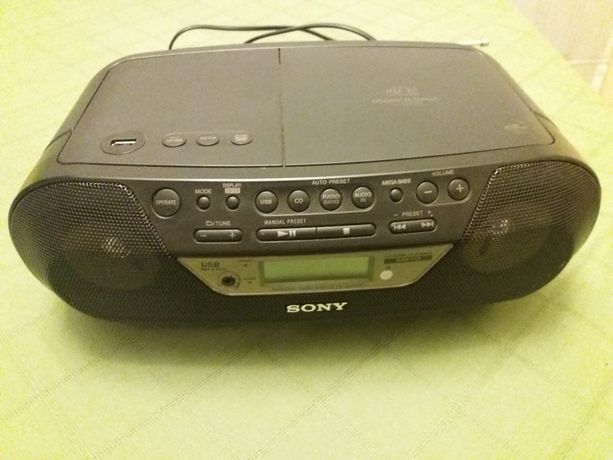 Odtwarzacz CD / Radio Sony ZS-RS09CP