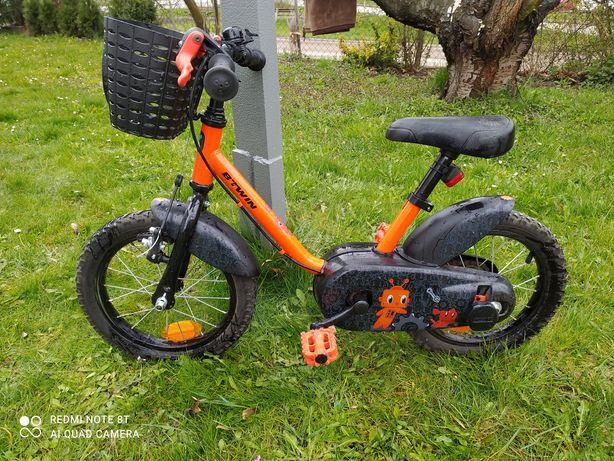 Rowerek dziecięcy 14 z kółkami bocznymi