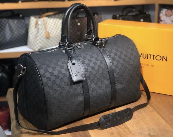 Дорожная сумка Louis Vuitton, спортивная сумка, чемодан, ручная кладь