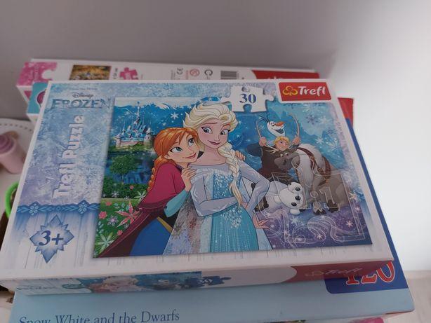 Puzzle w bardzo dobrym stanie po 8 zl szt