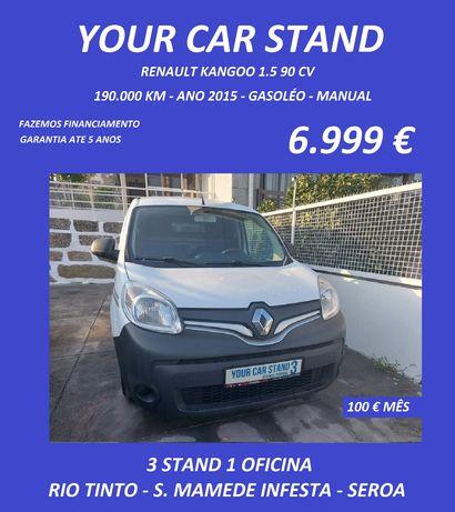 Renault Kangoo 1.5 90cv Ano 2015 ( Garantia até 5 anos )