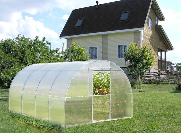 Szklarnia ogrodowa Betta 3m x 4m x 2,1m, stal, poliwęglan