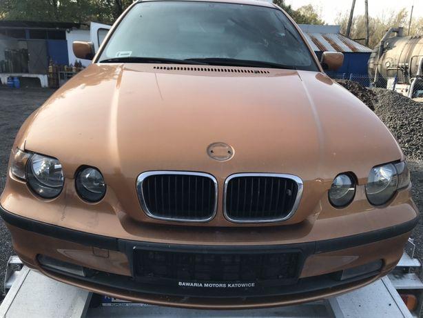 Bmw w46 compact 2003 pokrywa silnika maska przód przednia