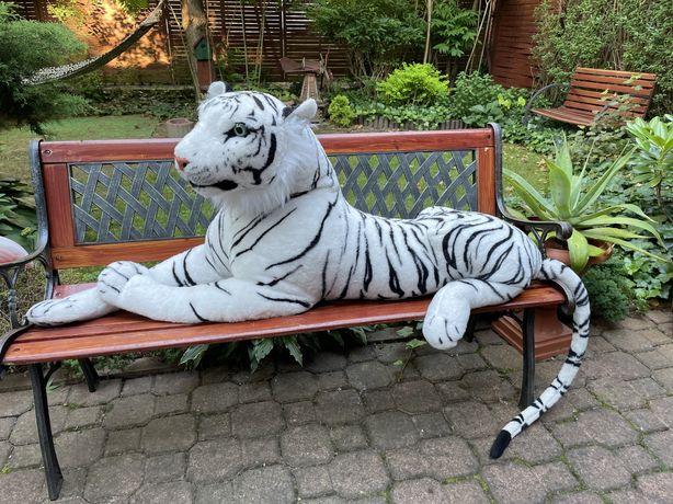 Biały tygrys maskotka - DUŻA