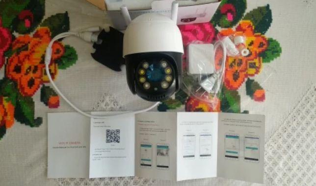 Kamery Kamera wifi zewnętrzna obrotowa 3MP !! FHD karta SD monitoring
