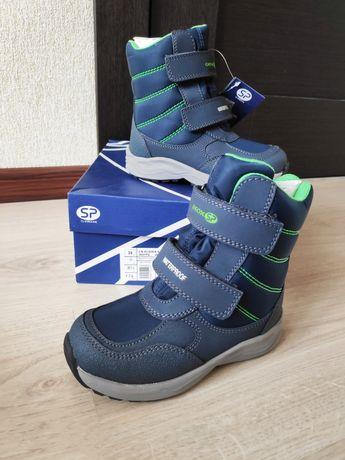 Сапоги Geox Waterproof сапожки термо ботинки зимние тёплые  новые 26 р