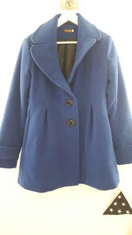 Płaszcz piękny habrowy kolor