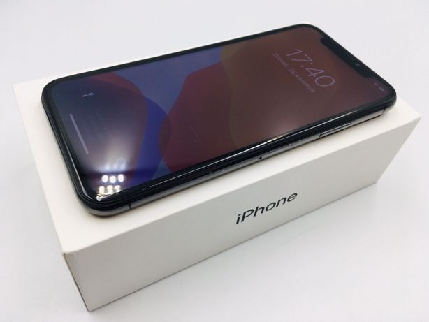 PROMOCJA • iPhone X 64GB Space Gray • GWAR 1 MSC • AppleCentrum