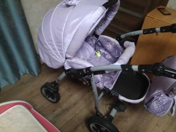 Продам  срочно детскую коляску 2в1