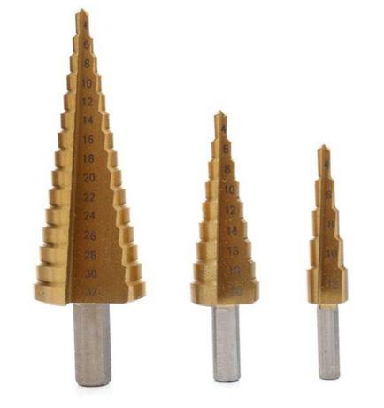Сверло ступенчатое конусное по металлу,кобальт 4-12 4-20 по нержавейке